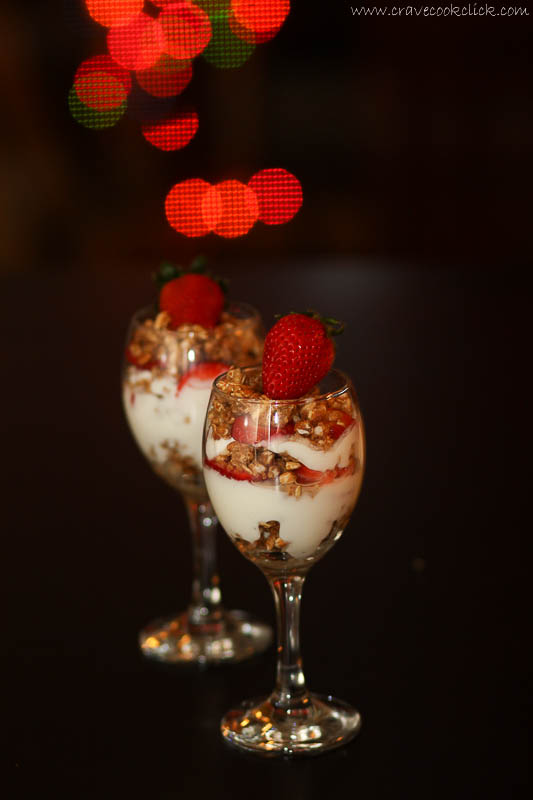 Strawberry Yoghurt Parfait Recipe