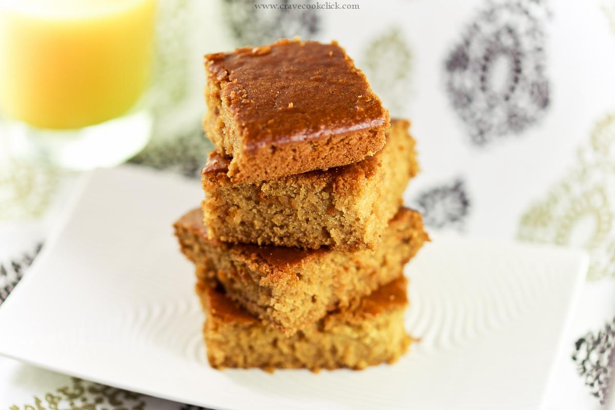 Eggless & Butter less Orange Sponge Cake Recipe
