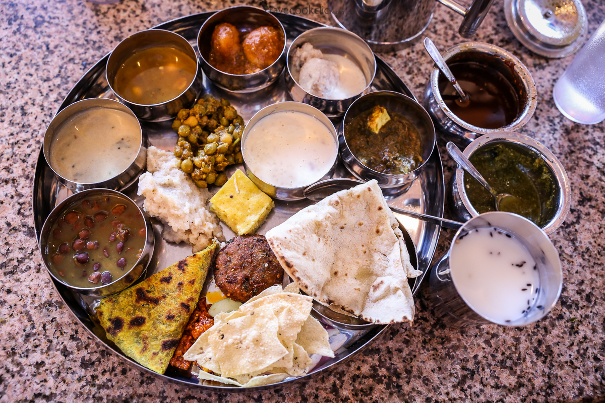 Thali Vegetarian-Restaurant Review