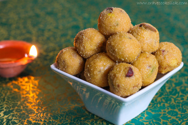 Rava Besan Ladoo recipe-How to make rava besan ladoo