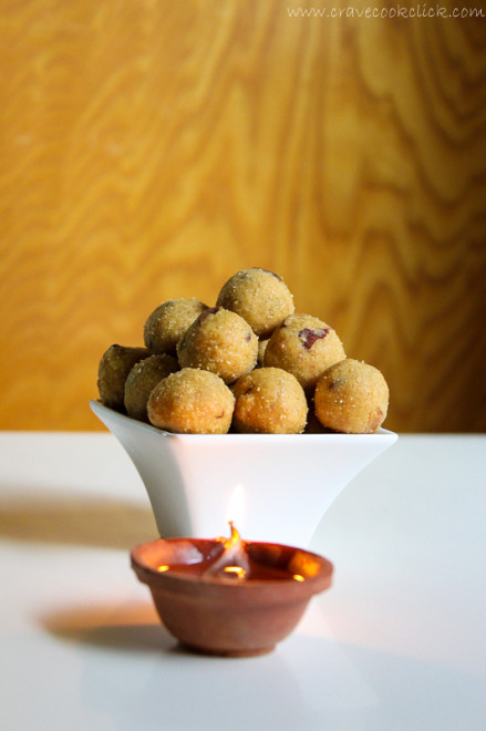 Rava Besan Ladoo recipe-How to make rava besan ladoo