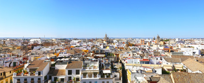 From top of Seville Cathedral
