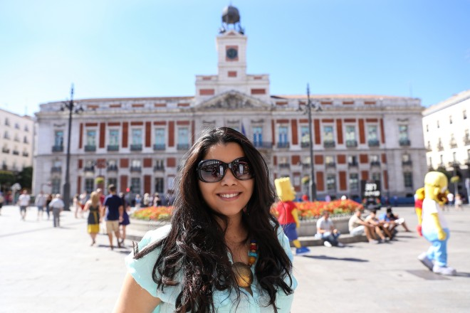 At Puerta De Sol during day time