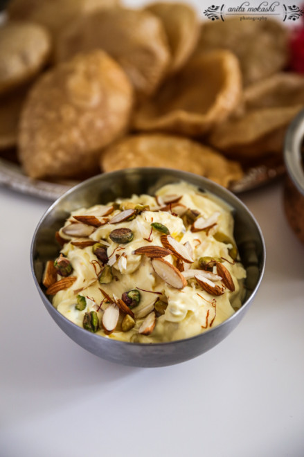 Gudi Padwa and Shrikhand Puri