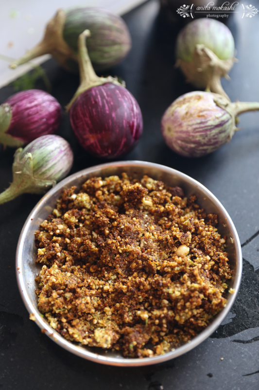 Bharli Vangii/Stuffed Brinjals Recipe/How to make Bharli Vangi or Stuffed Brinjals
