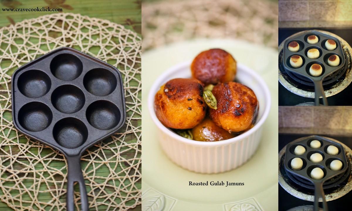 Roasted Gulab Jamun