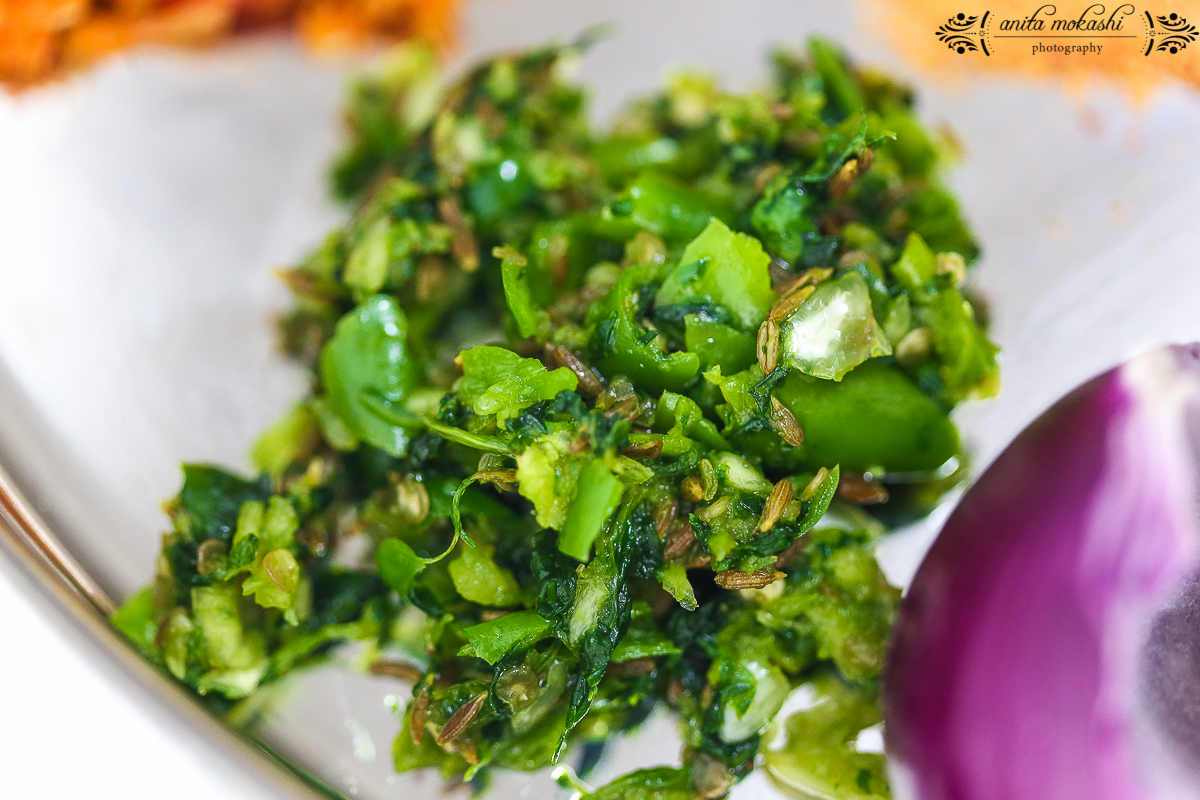 Pithla Thecha Bhakri Recipe