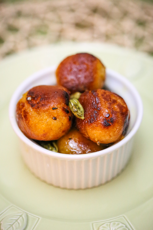 Roasted Gulab Jamun Recipe