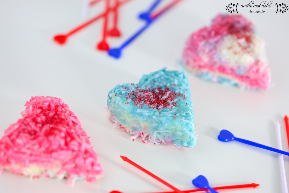 4th July Coconut White Chocolate Truffles