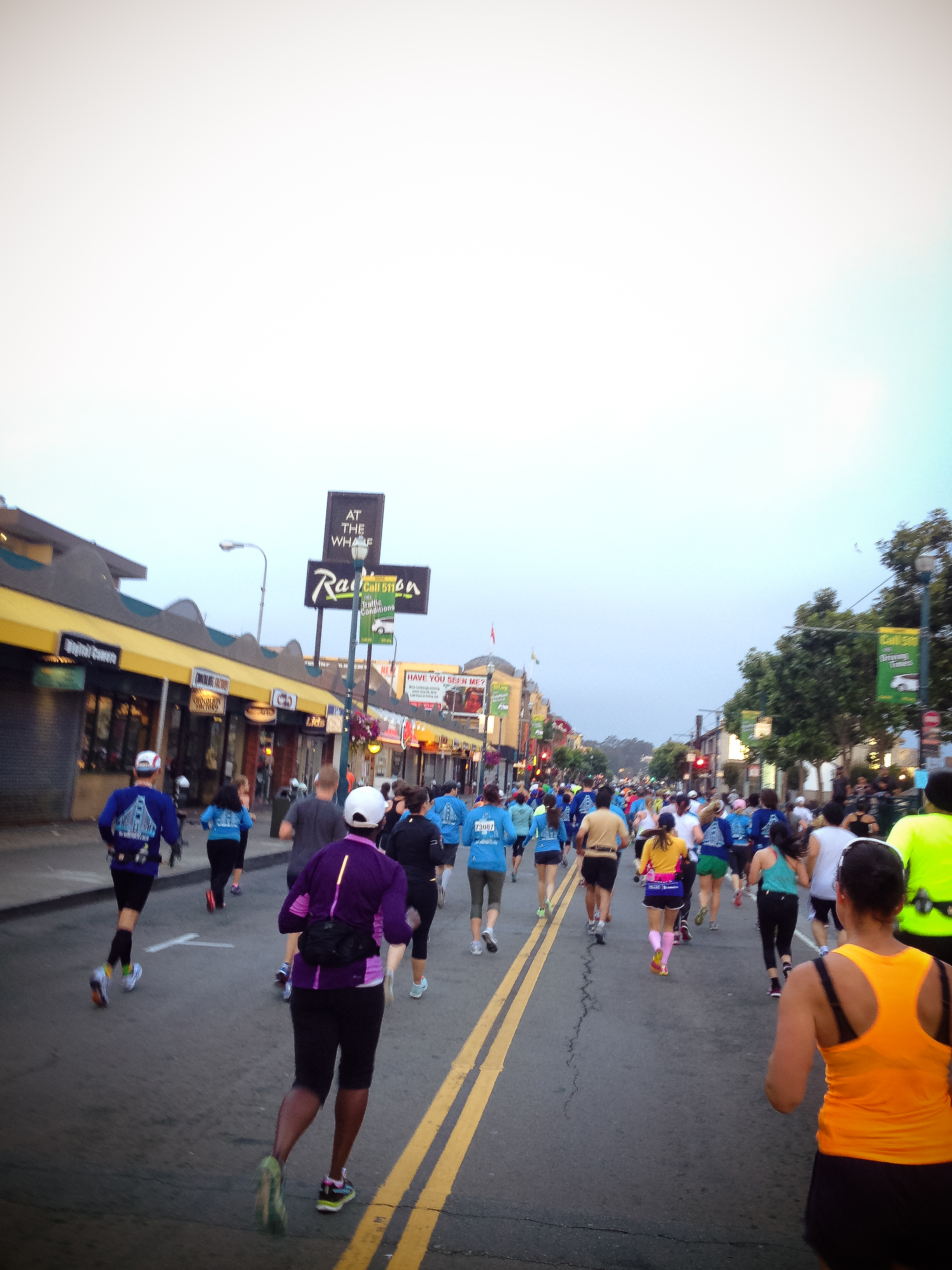 The San Francisco Half Marathon 2014 on 27th July