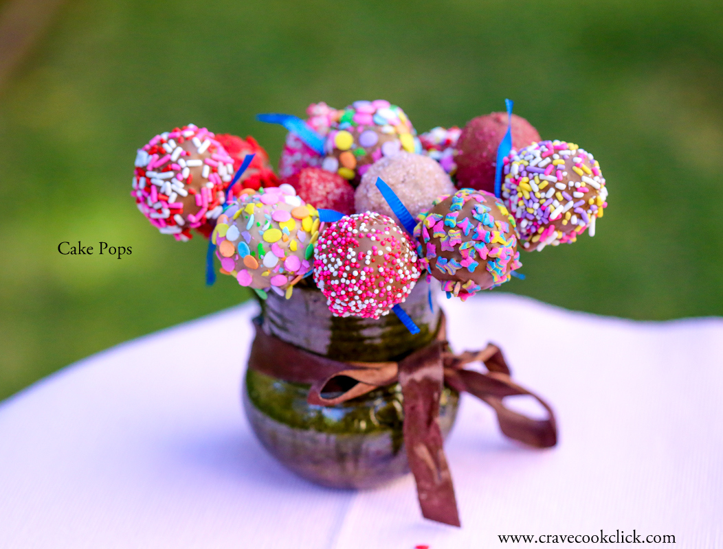 Cake Pops-How to make cake pops