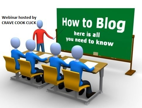 Webinar for blogging