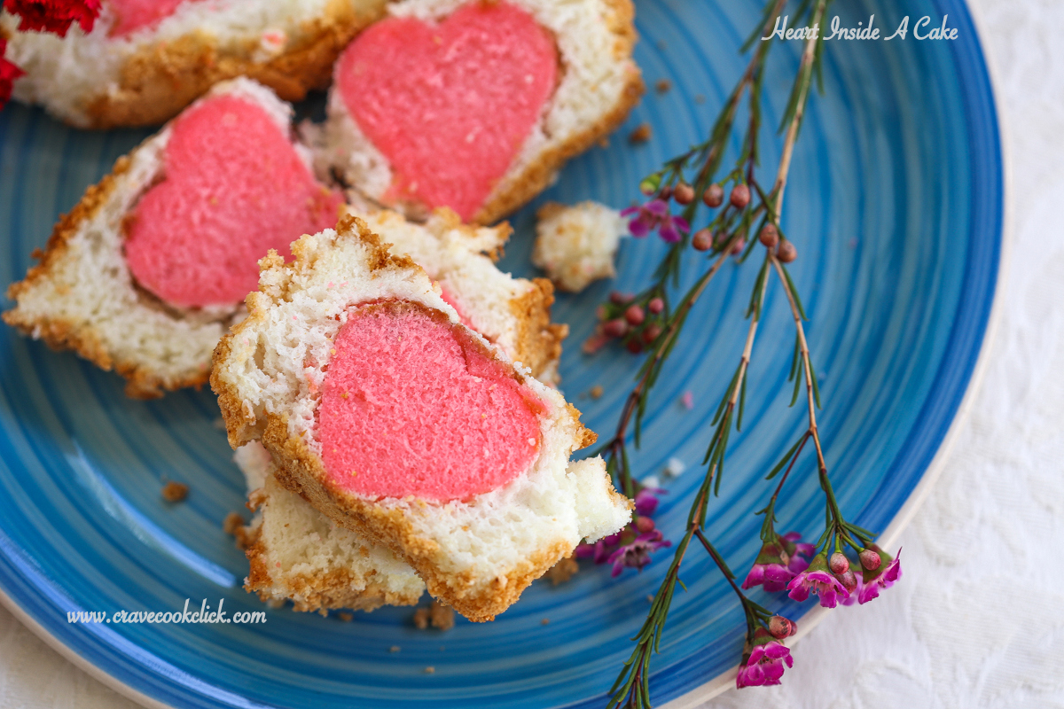 Valentine's Heart Shaped Pound Cake Recipe