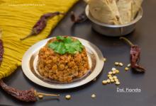 Dal Kanda Recipe