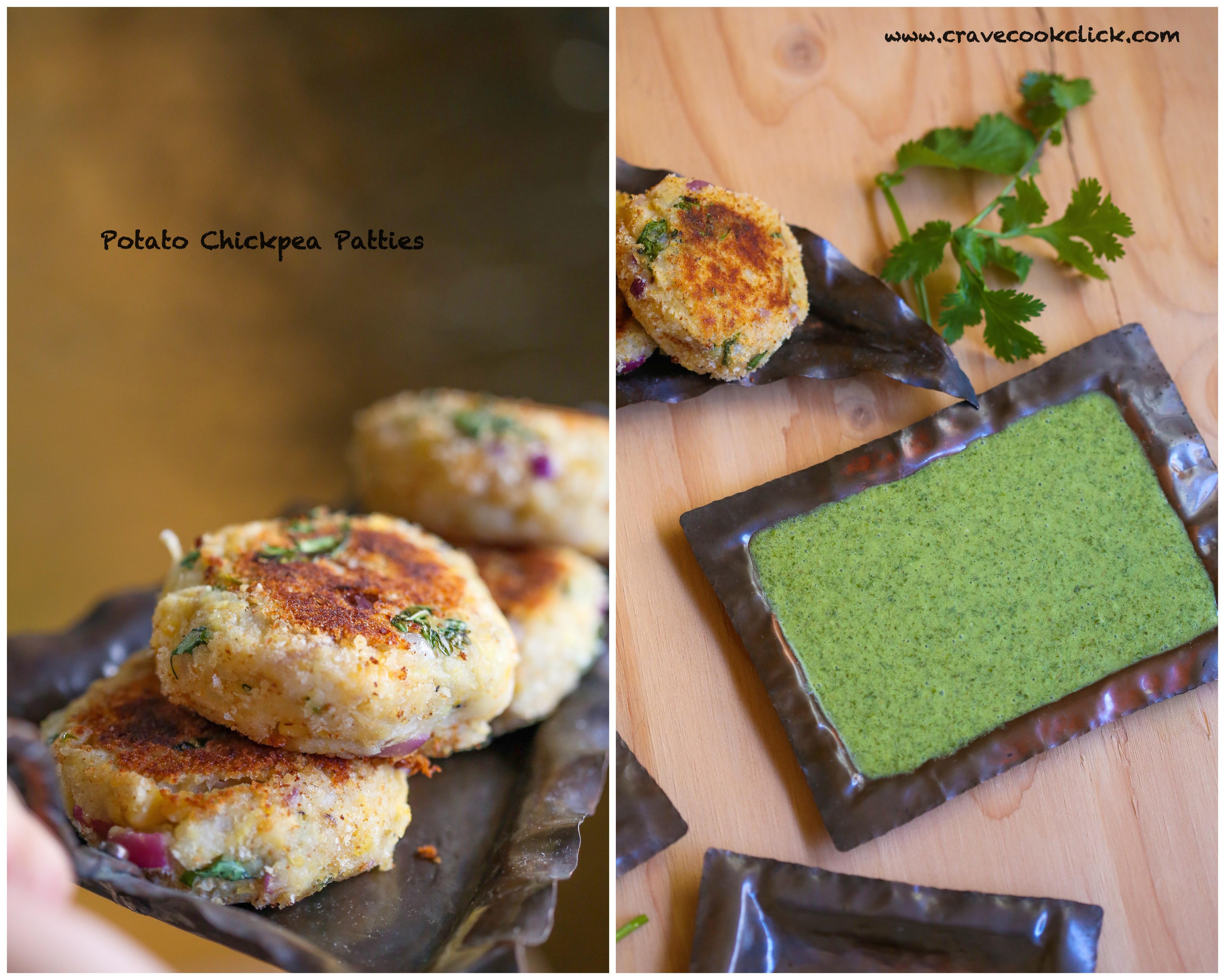 Potato patties/Chickpea Potato Sliders/How to make sliders
