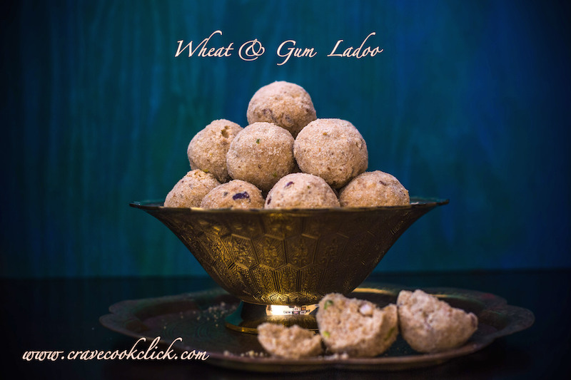 Wheat & Gum Ladoos Recipe, how to make gained laddoos, healthy laddoos
