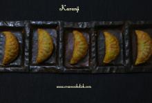 Karanji Recipe- Diwali Special Delicacy