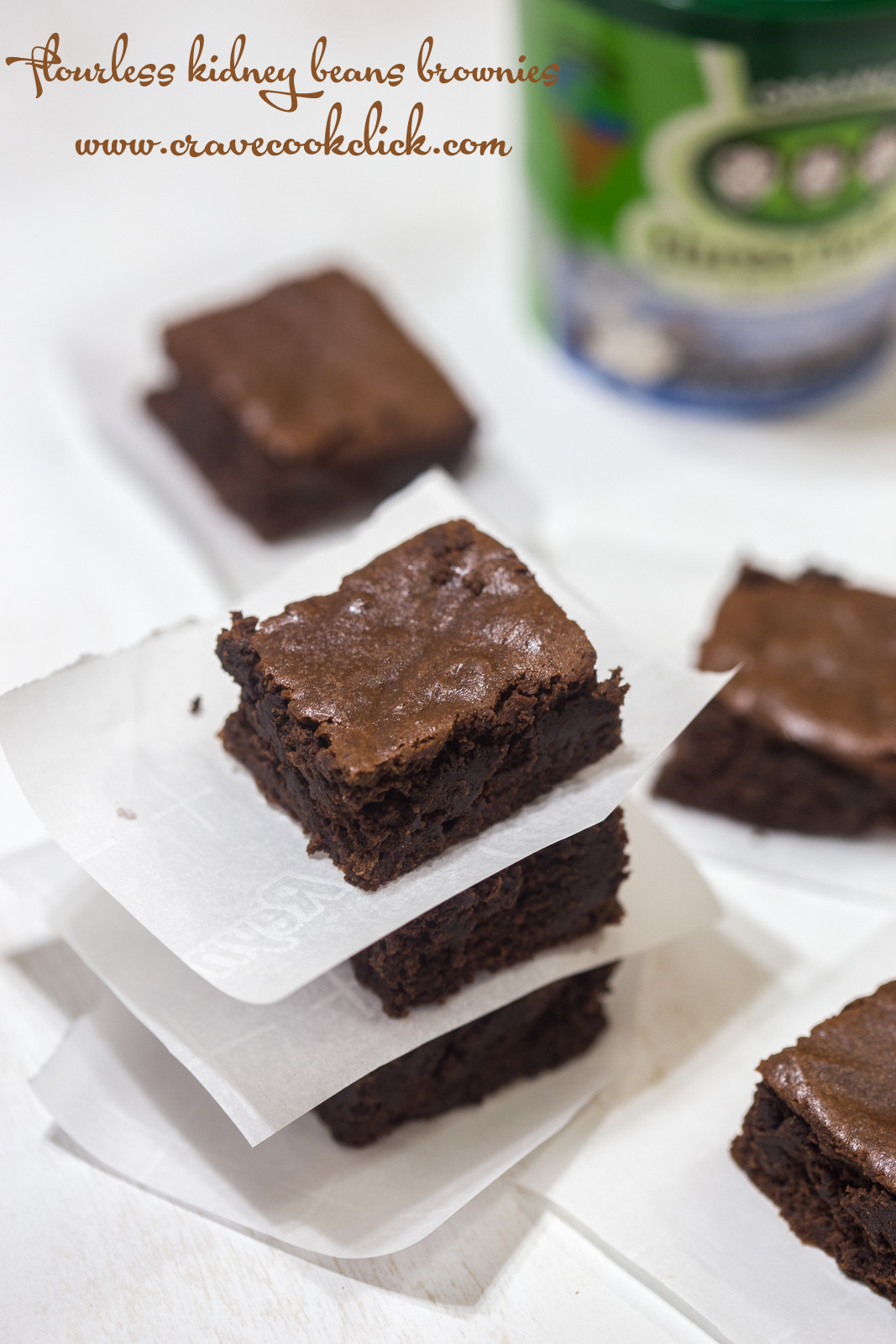 Healthy brownies, gluten free brownies, flourless brownies, tasty, kidney beans, food blog, easy recipes, food photography, healthy recipes