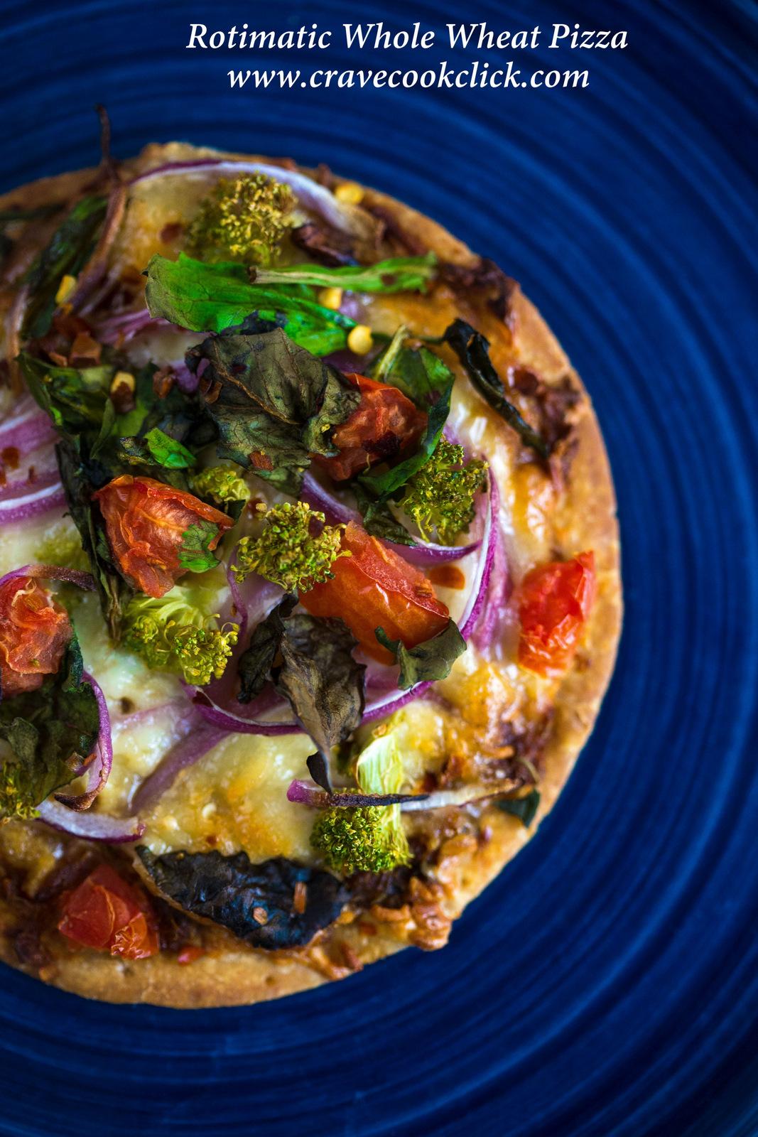 Rotimatic Pizza Recipe