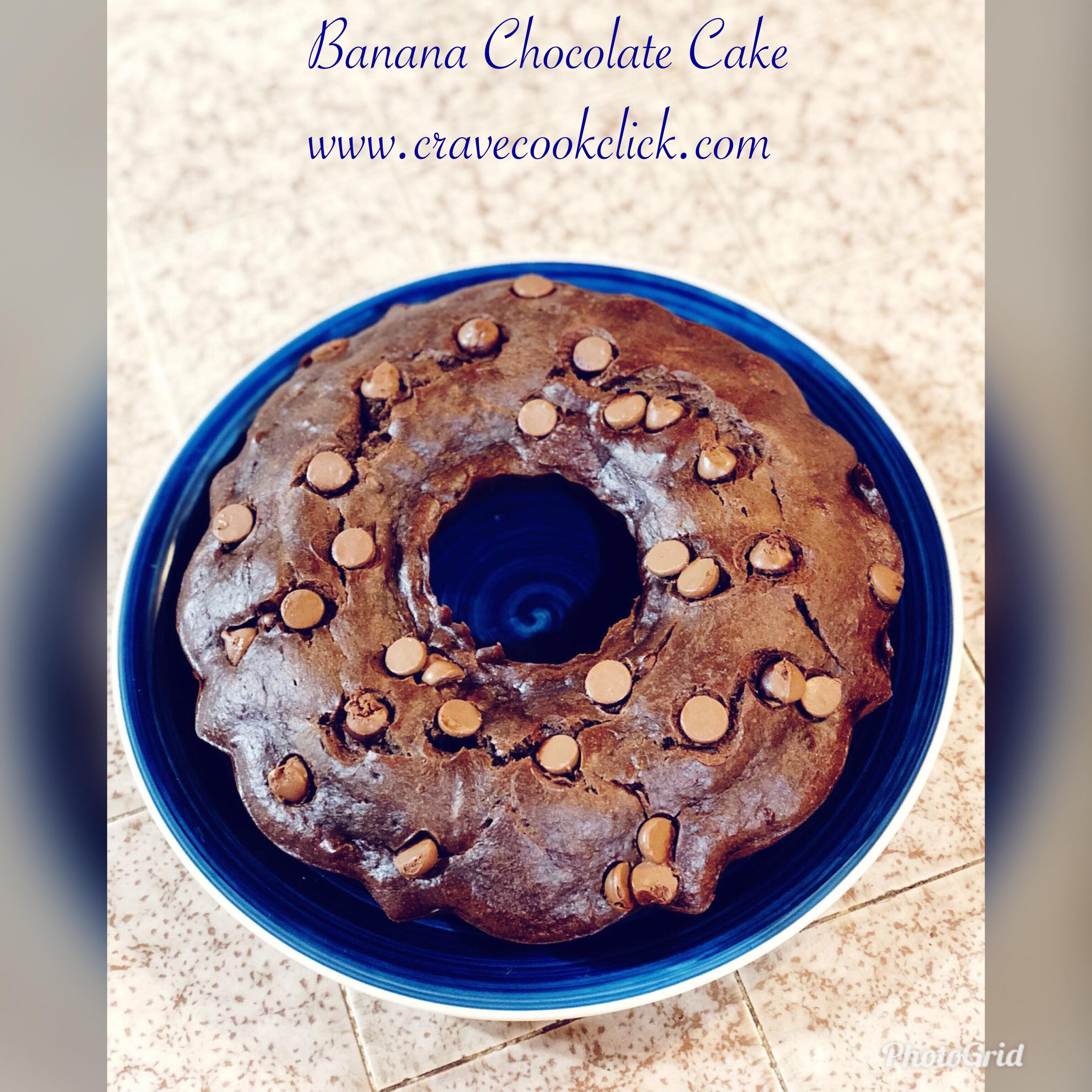 chocolate cake, banana chocolate cake, chocolate cake recipe, cake recipe, easy chocolate cake recipe, healthy chocolate cake, dessert recipe, eggless cake, butter less cake recipe