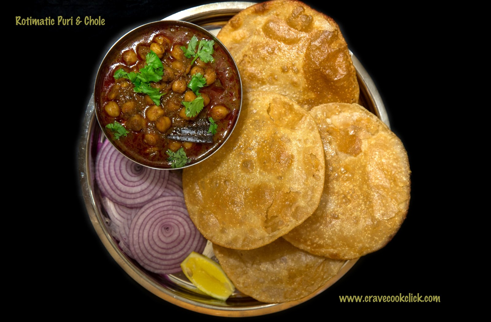 Rotimatic Puri & Chole Recipe