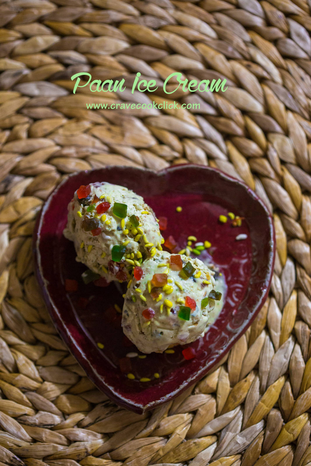 paan ice cream recipe, how to make paan ice cream, easy ice cream recipe, homemade ice cream recipes,