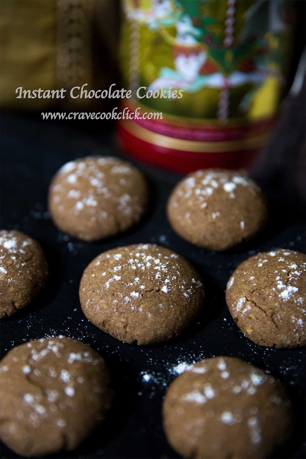 Instant Chocolate Cookies Recipe