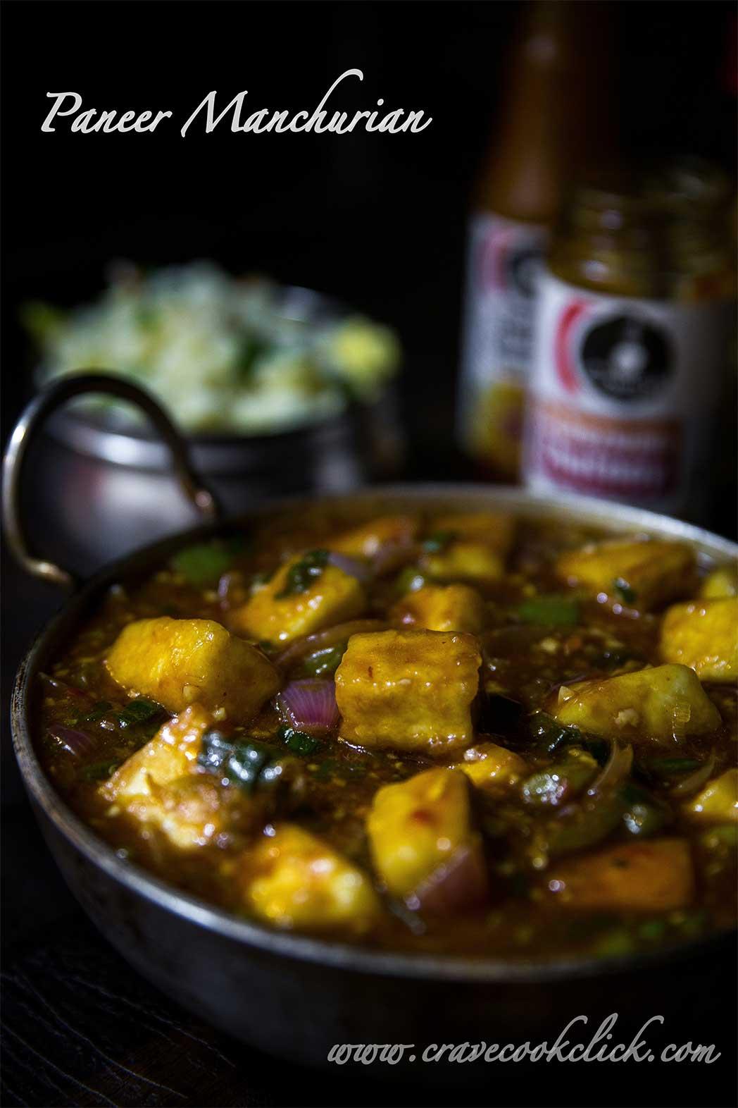 Paneer Manchurian Recipe I How to make Paneer Manchurian