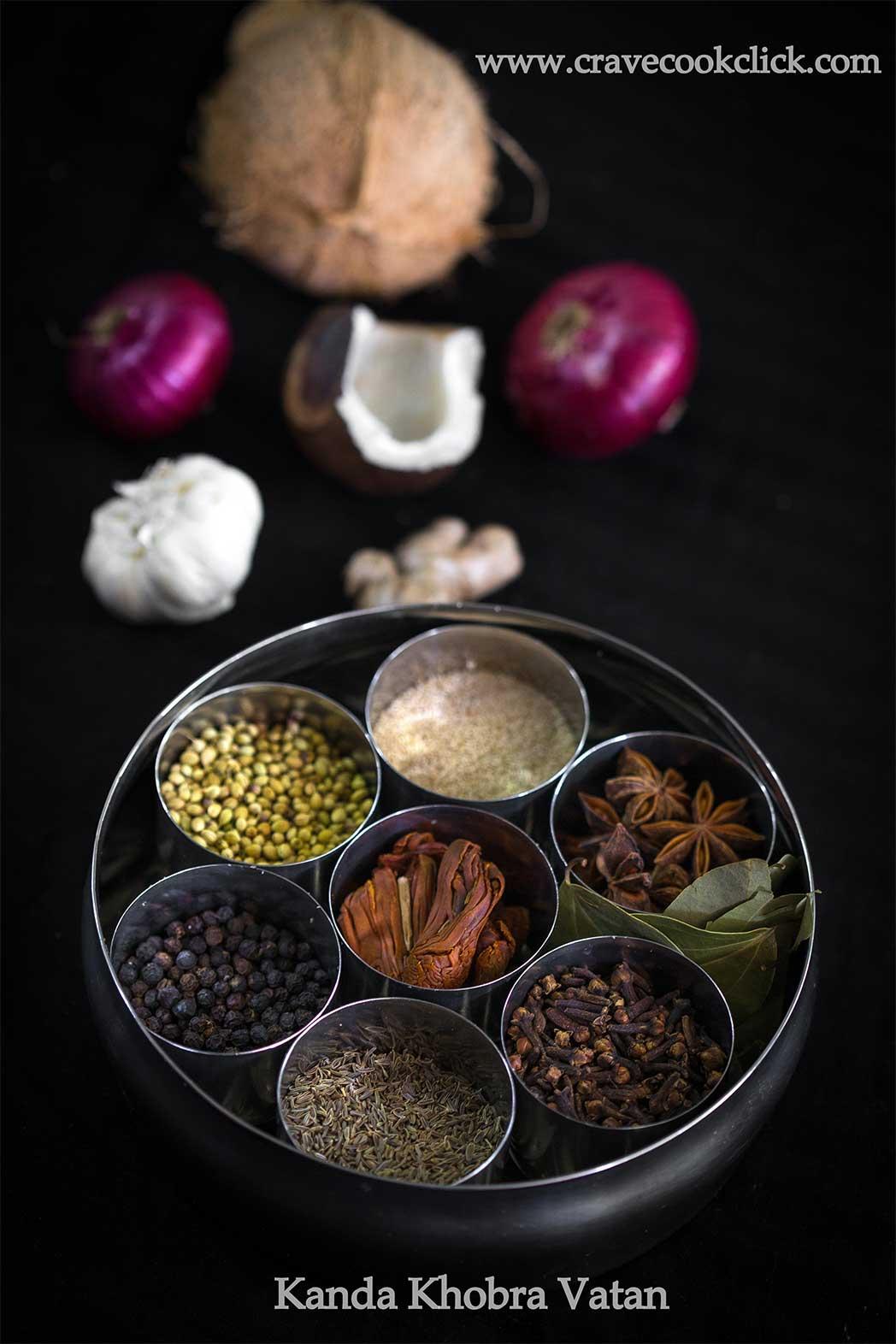 Kanda Khobra Vatan Recipe